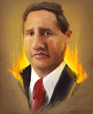Illustration for article titled HP Suing Mark Hurd To Protect Trade Secrets