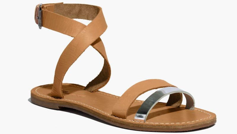 Illustration for article titled Madewell's Sightseer Sandals Are Trying to Kill You