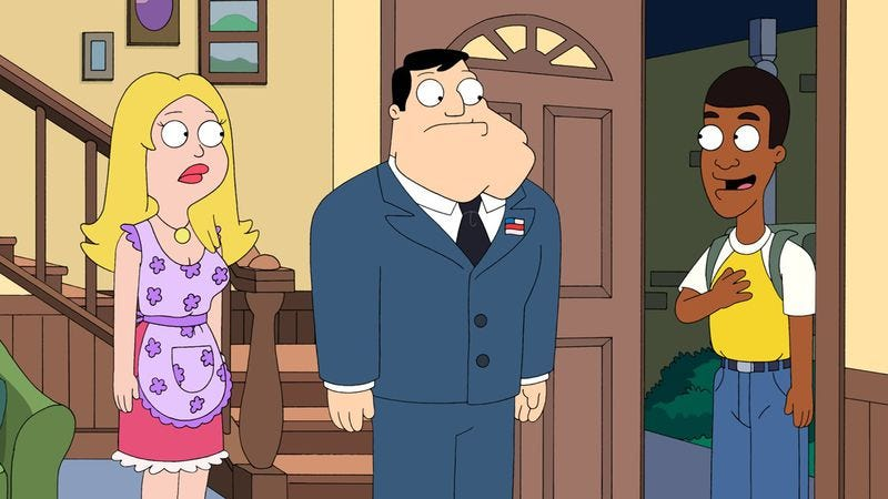 """Illustration for article titled American Dad: """"Ricky Spanish"""""""