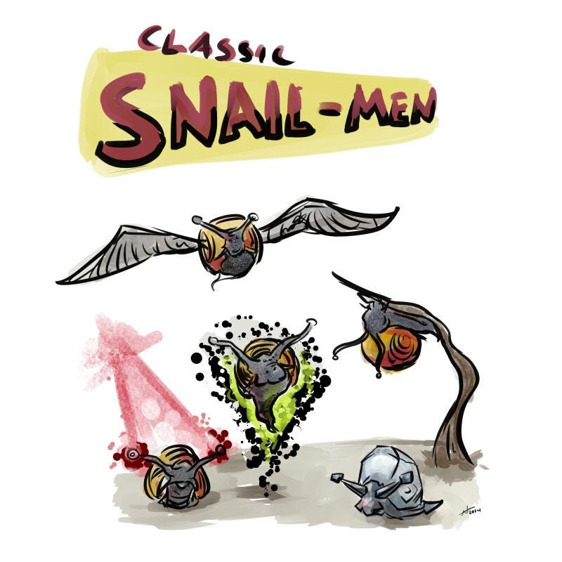 Illustration for article titled X-Snails is the future of snail kind