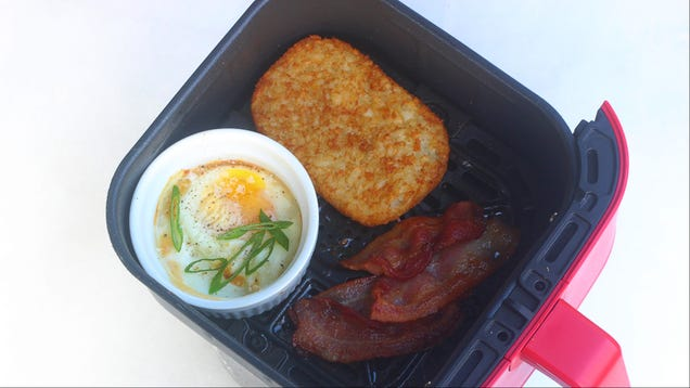 Make a Complete Breakfast for One in Your Air Fryer