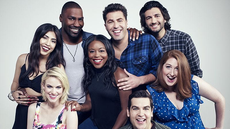 The cast of MADtv (photo: Tommy Garcia / The CW)
