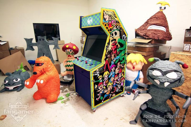 Illustration for article titled EarthBound, The Arcade Cabinet