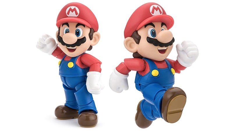 Illustration for article titled A Super-Articulated Mario Figure Is Just What We Needed