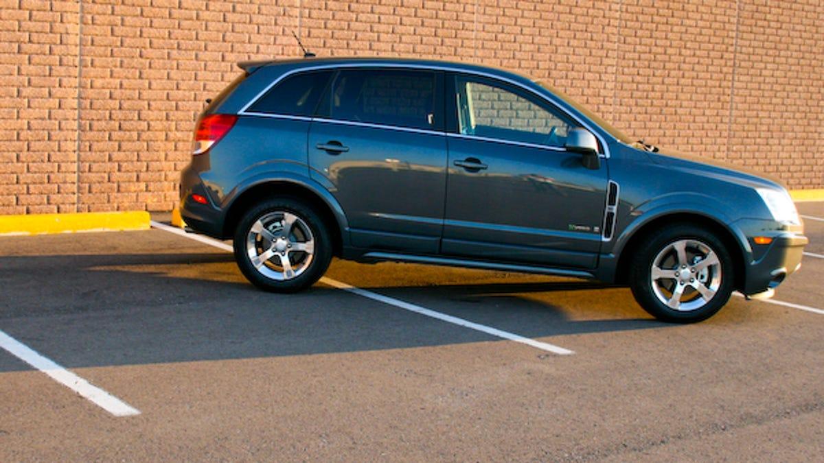 2008 Saturn Vue Green Line Hybrid Part Three Tires
