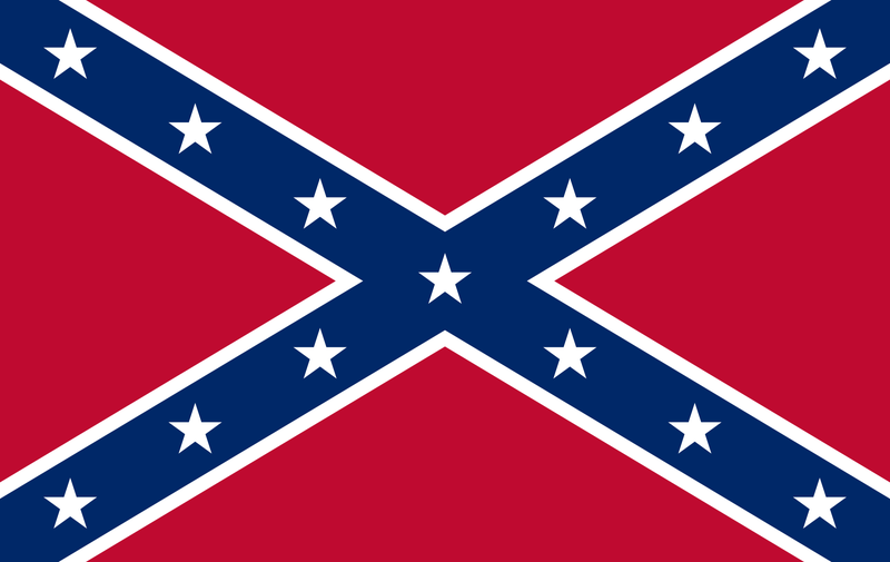 Illustration for article titled This is not the Confederate National flag.