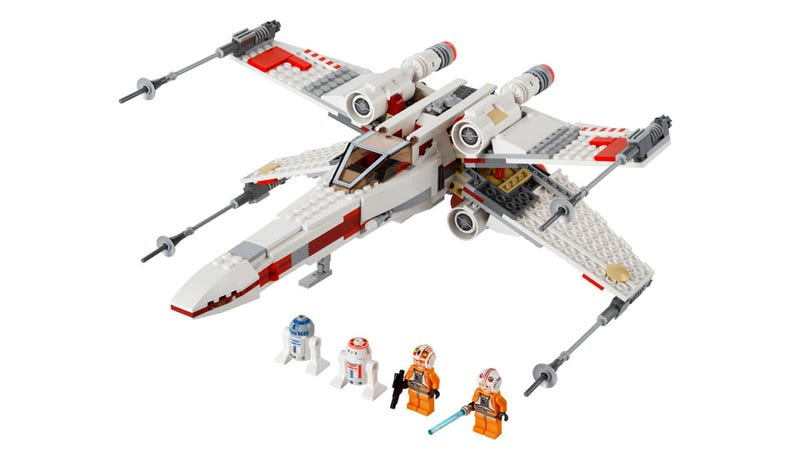 Illustration for article titled I Wish the New Lego X-Wing 2012 Was Coming Out RIGHT NOW