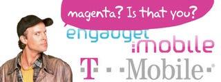 Illustration for article titled Mr. T-Mobile Warns Mr. Engadget Mobile Over the Color Magenta
