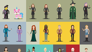 Illustration for article titled This awesome poster celebrates the badass Women of Films and TV