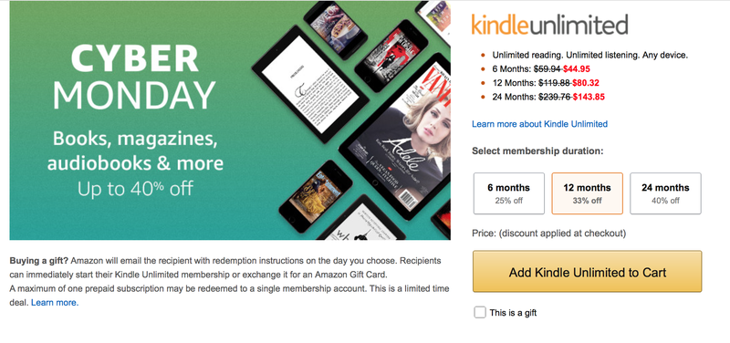 Give The Gift Of Free Ebooks With a Discounted Kindle