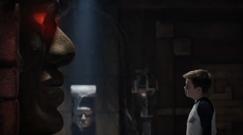 Illustration for article titled New Legends of the Hidden Temple Trailer Brings Us the True Star: Olmec!