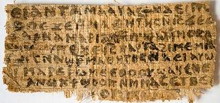 Confirmado: el papiro que habla de la mujer de Jesucristo es auténtico