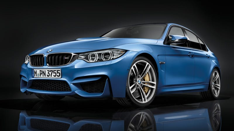 Illustration for article titled The All-New BMW M3 Sedan And BMW M4 Coupe