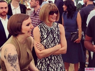 Illustration for article titled ANNA WINTOUR AND LENA DUNHAM RIGHT NOW