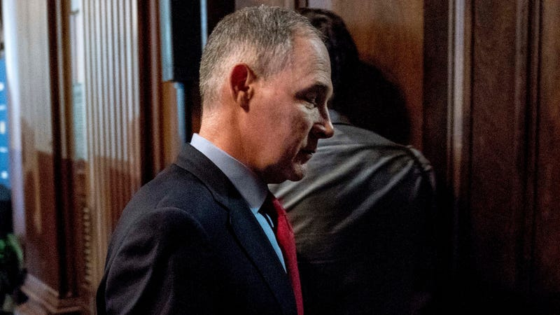 Illustration for article titled A Running List of Wild Shit Scott Pruitt Hasn't Been Fired For (Yet) [Update: He's Finished]