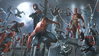 Illustration for article titled The 10 Most Bizarre Alt-Universe versions of Spider-Man