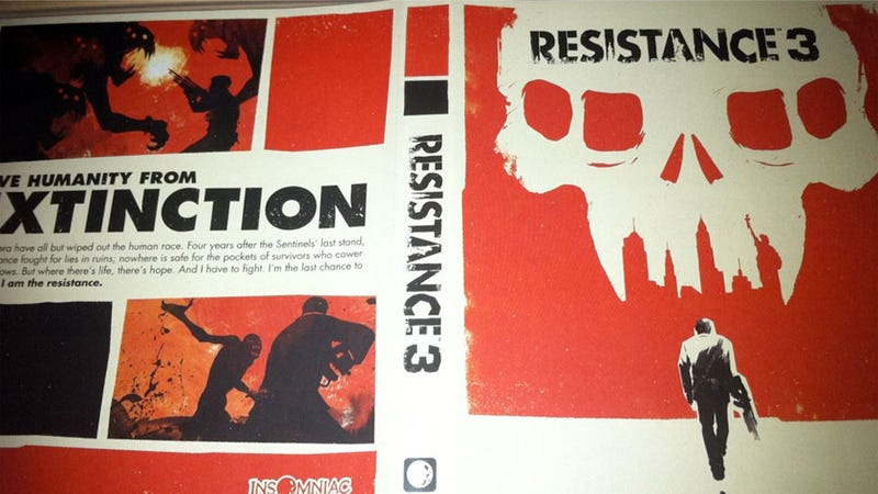 Illustration for article titled Resistance 3's Alternate Cover is for People Who Adore Box Art, Not Logos
