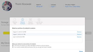 Illustration for article titled You Can Now Recover Contacts, Calendars, and Reminders from iCloud
