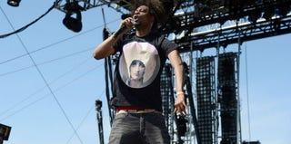 Rapper Danny Brown performs at Coachella. (Frazer Harrison/Getty Images Entertainment)