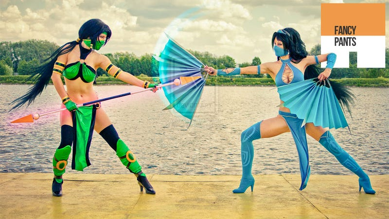 Illustration for article titled This Cosplay Is a Flawless Victory