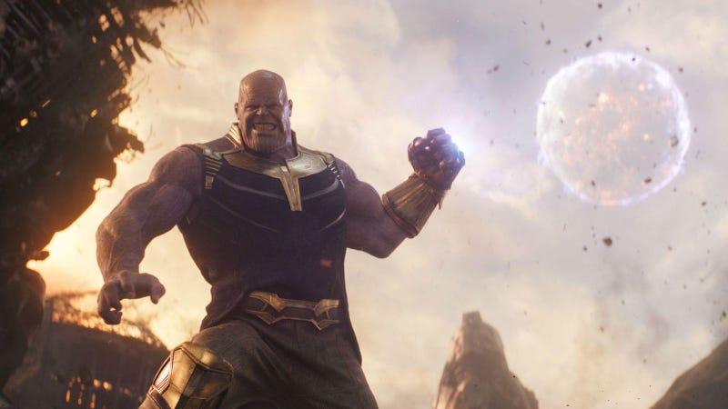 Thanos en Avengers: Infinity War.