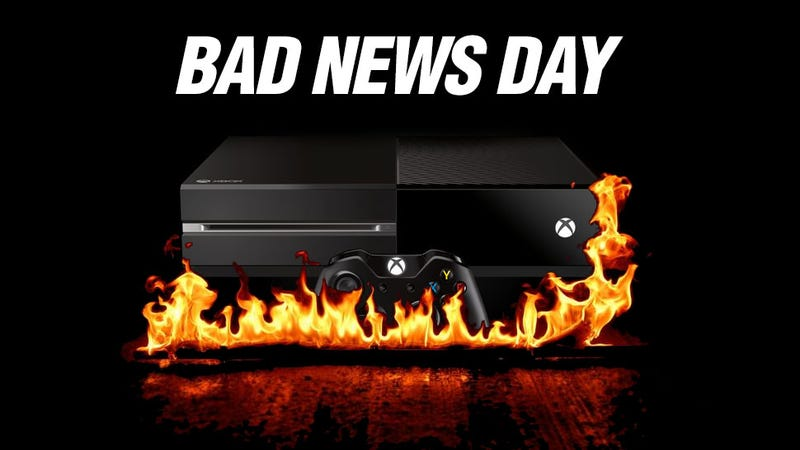 Illustration for article titled The Xbox One Just Had A Very Bad Day