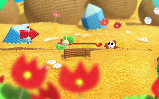 Illustration for article titled Unravel Shy Guys and More in This Yoshi's Woolly World Launch Trailer