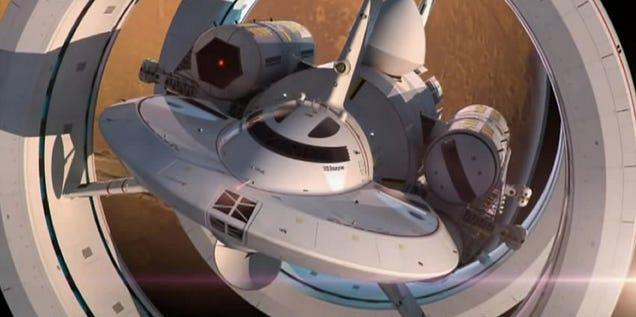 Este es el nuevo diseño de la NASA para una nave a velocidad de la luz
