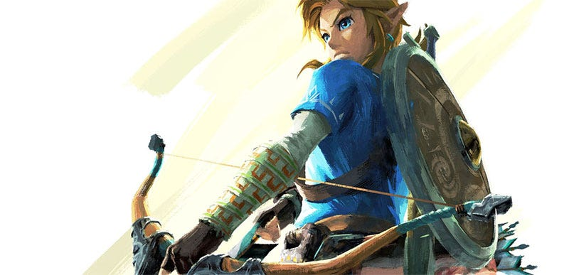 Illustration for article titled Zelda: Breath Of The Wild Will Be A Switch Launch Title