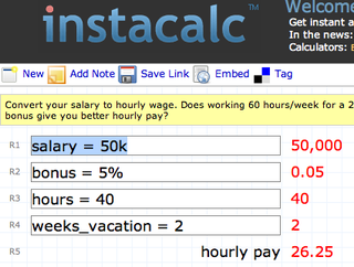 Illustration for article titled InstaCalc shareable calculations