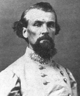 Nathan Bedford Forrest, the first KKK grand wizardWikimedia Commons