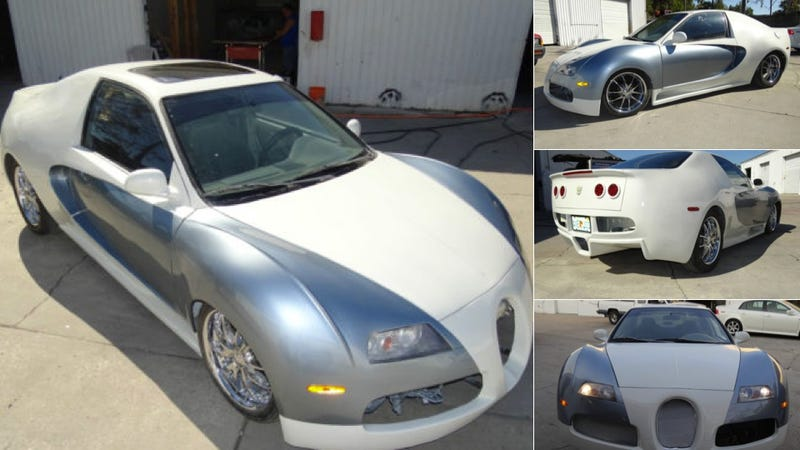 Why Not Turn Your Honda Into A Bugatti Veyron
