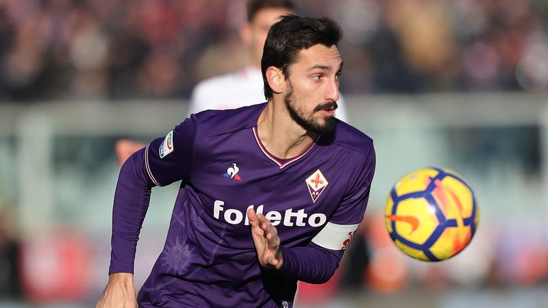 Illustration for article titled Fiorentina Captain Davide Astori Dies Suddenly At 31