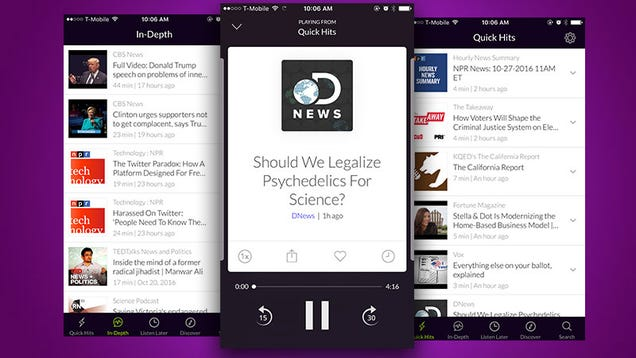 60db Dishes Out Short-Form Podcasts Personalized for You