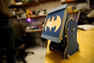 Illustration for article titled I'm Building This DIY Batsignal and Then Taking You Jokers Down