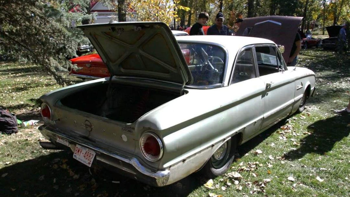 This Guy Built A Skyline Powered Ford Falcon Out Of Spares And Garbage Xh Ute Wiring Diagram
