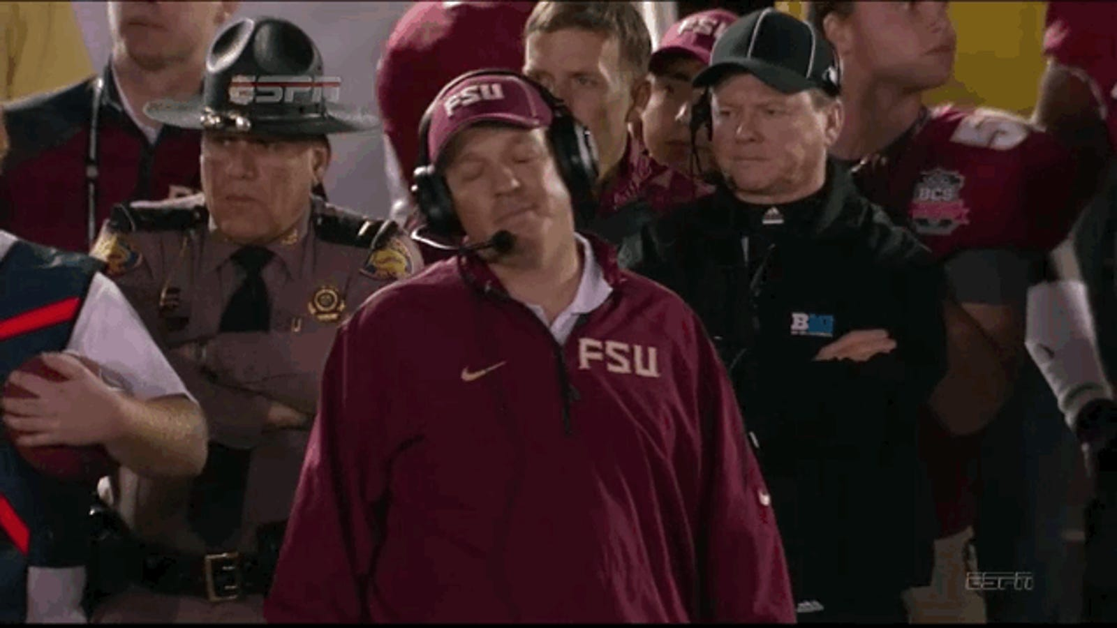 red lightning is not happy with florida state right now