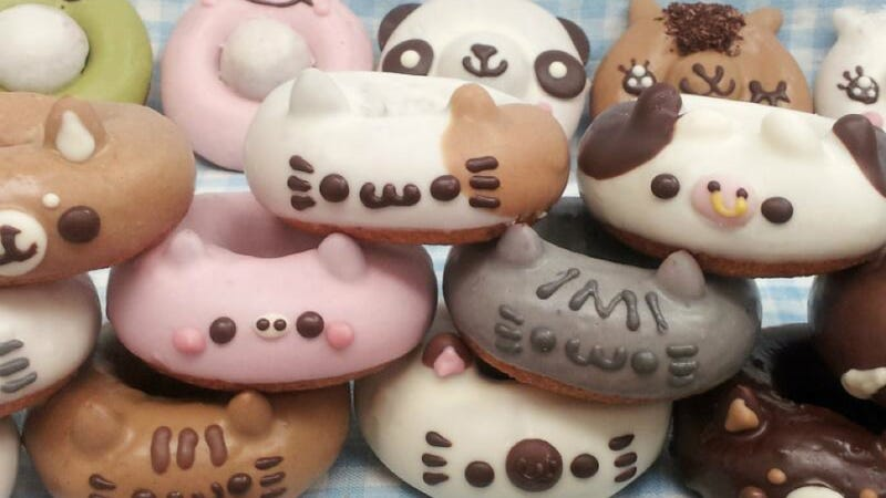 Illustration for article titled Oh My Gosh, Japan's Animal Donuts Are Too Cute