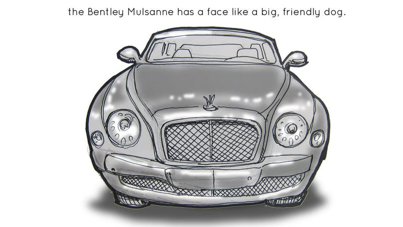 Illustration for article titled Livesketching The 2012 Detroit Auto Show: Bentley Mulsanne