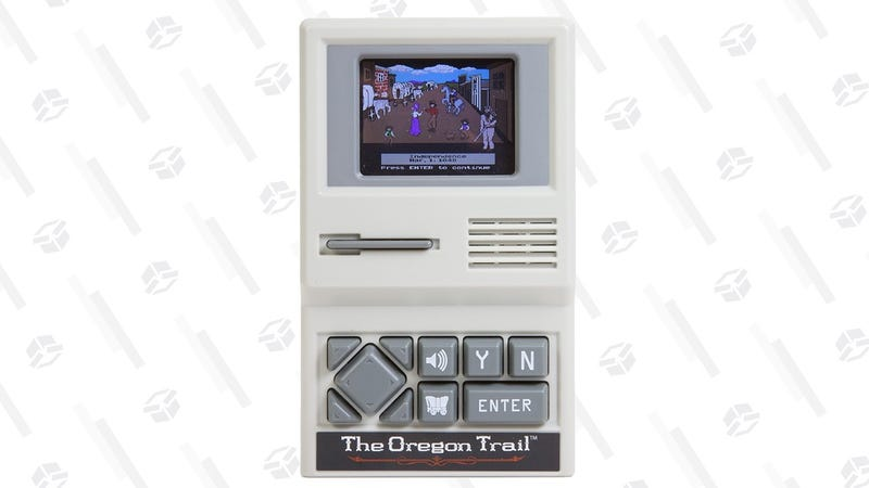 Consola retro con The Oregon Trail | $10 | AmazonGráfico: Shep McAllister