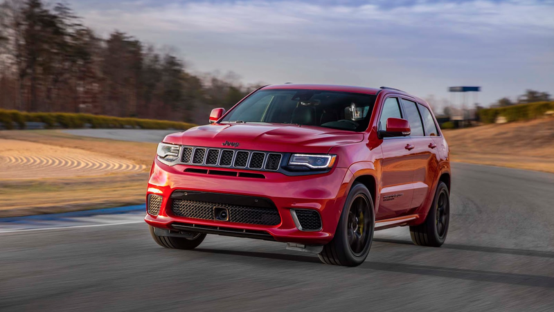 Track Hawk Grand Cherokee >> 2018 Jeep Grand Cherokee Trackhawk This Is More Of The 707 Hp