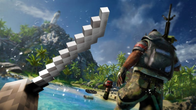 Illustration for article titled Far Cry 3 Set To Invade Minecraft
