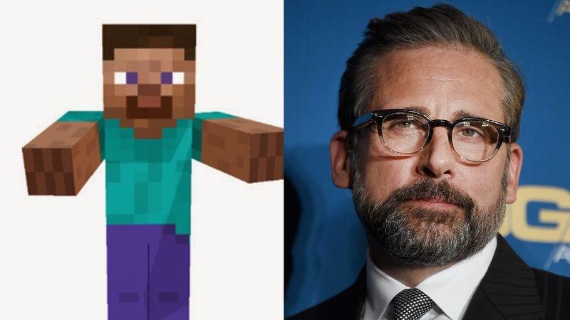 Steve/Steve (Photo: Minecraft, Steve Granitz/Getty Images)