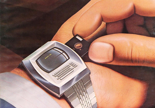 Illustration for article titled 1981 Smartwatch With A Floppy Drive And Full Keyboard