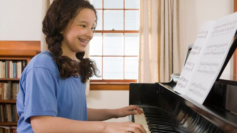 Illustration for article titled 6 Things Everyone Who Took Piano Lessons Knows To Be True