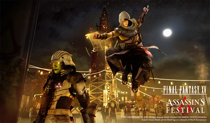 Be the Assassin in Final Fantasy XV's Assassin's Festival