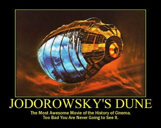 Illustration for article titled Question about Jodoworsky's Dune