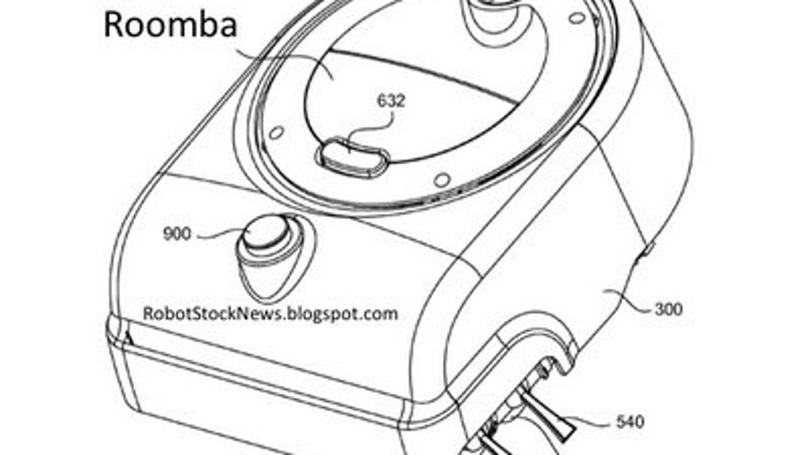 roomba patent solves pesky corner cleaning problem with simple geometry Vacuum Roomba 880