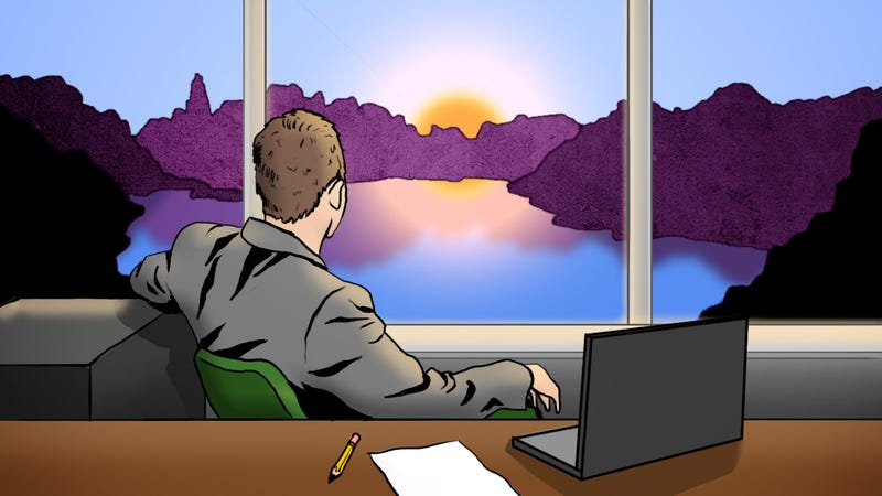 Illustration for article titled Show Us the View From Your Office