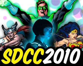 Illustration for article titled The Saturday Comic-Con schedule is up — Green Lantern, Thor, Venture Bros, and more!